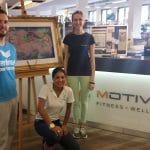 Motivitas Fitness - Im Saarland Thermen Resort .... kombiniert mit Kunst von Michaela de Luxe